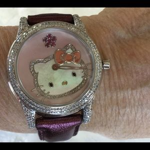 Hello Kitty Sample One-of-a-Kind Watch